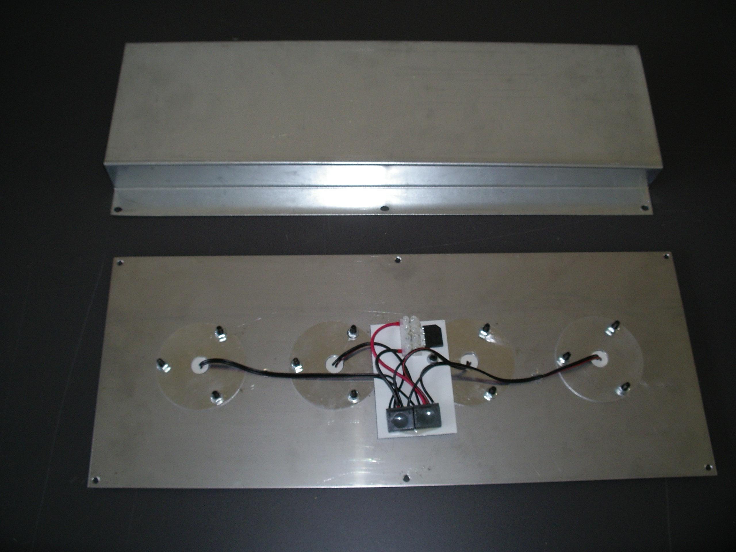 LED svítidlo KIT 250-500kg  4x25W 24V zadek