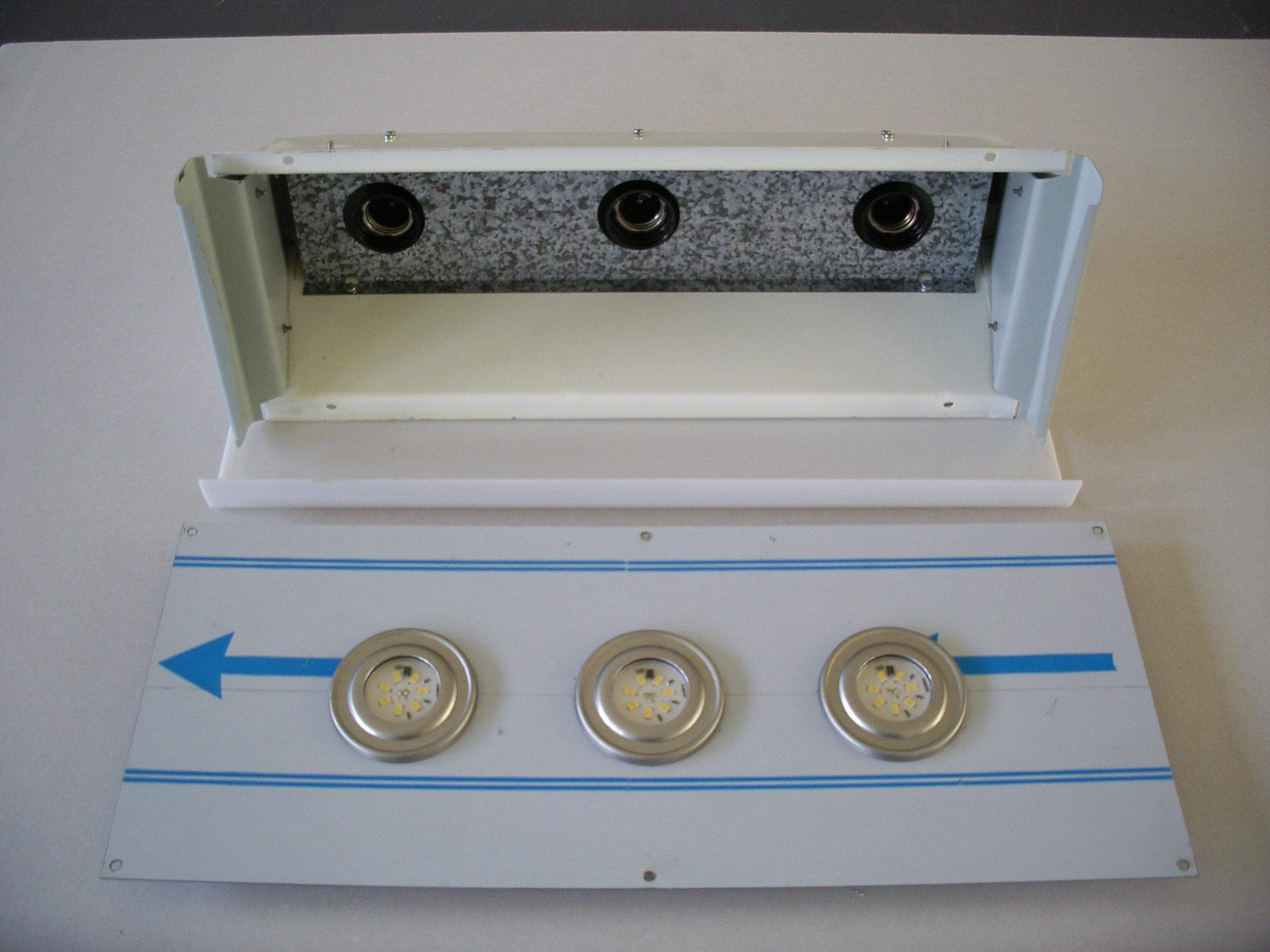 LED svítidlo staré a nové